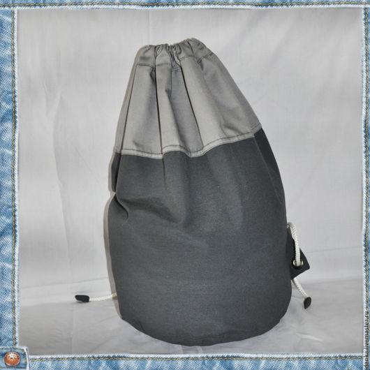 Мужские сумки ручной работы. Ярмарка Мастеров - ручная работа. Купить Рюкзак из джинсовой ткани. Handmade. Рюкзак, простая сумка