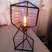 """Для дома и интерьера ручной работы. Ярмарка Мастеров - ручная работа ламппа в стиле Лофт/Industrial """"Спираль"""". Handmade."""