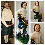 """Куклы и игрушки ручной работы. Ярмарка Мастеров - ручная работа Портретная кукла """" Шотландец"""". Handmade."""