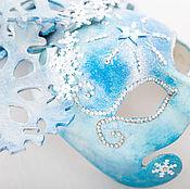 """Костюмы ручной работы. Ярмарка Мастеров - ручная работа Венецианская карнавальная маска """" Зима"""". Handmade."""