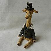 Куклы и игрушки ручной работы. Ярмарка Мастеров - ручная работа Жираф Жора. Handmade.