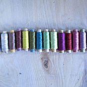 Материалы для творчества handmade. Livemaster - original item Threads of natural silk vintage set 15 PCs. Handmade.