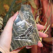 Сувениры и подарки handmade. Livemaster - original item Magnet Sochi Souvenirs wholesale natural stone Magnet stone painting. Handmade.