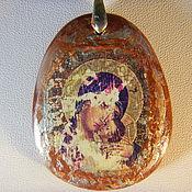 """Украшения ручной работы. Ярмарка Мастеров - ручная работа Кулон """"Богородица"""". Handmade."""