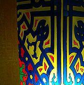 """Для дома и интерьера ручной работы. Ярмарка Мастеров - ручная работа Лампа""""Восточный узор"""". Handmade."""