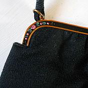 Винтаж ручной работы. Ярмарка Мастеров - ручная работа Шикарная сумка Rosenfeld. конец 40-х. Handmade.