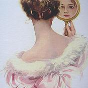 """Для дома и интерьера ручной работы. Ярмарка Мастеров - ручная работа Панно """"Взгляд в зеркало"""". Handmade."""