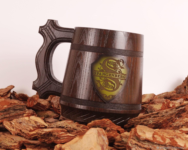 Кружка для пива с персональной гравировкой, Кружки и чашки, Одесса,  Фото №1