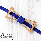 Аксессуары handmade. Livemaster - original item Men`s bow tie wood - Diamond. Handmade.