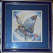 Картины и панно ручной работы. Ярмарка Мастеров - ручная работа Бабочка-ночь. Handmade.