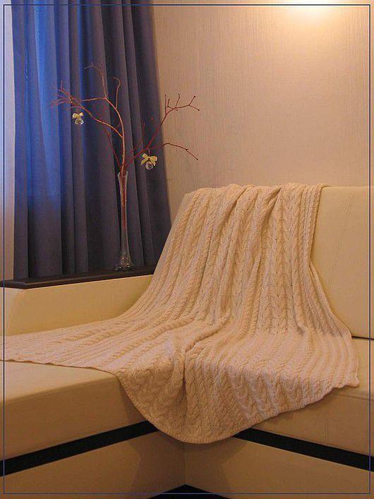 Текстиль, ковры ручной работы. Ярмарка Мастеров - ручная работа. Купить Теплый плед. Handmade. Ручная работа, уютный дом