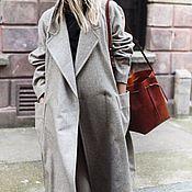 Одежда handmade. Livemaster - original item Copy of Copy of Black wool oversize coat. Handmade.