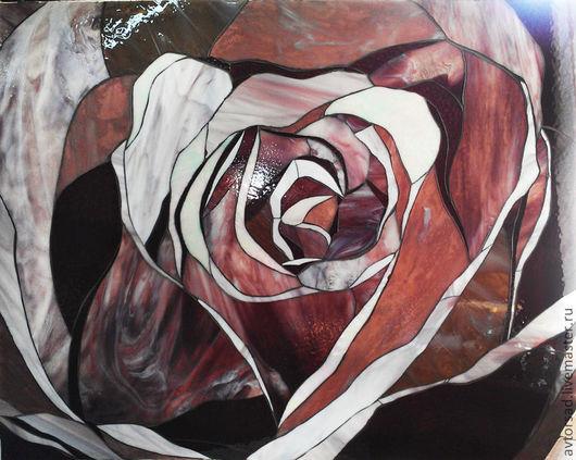 """Картины цветов ручной работы. Ярмарка Мастеров - ручная работа. Купить Картина-панно """"Роза"""". Handmade. Картины и панно"""