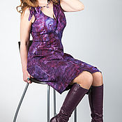 Одежда ручной работы. Ярмарка Мастеров - ручная работа Платье в технике нунофелтинг. Handmade.