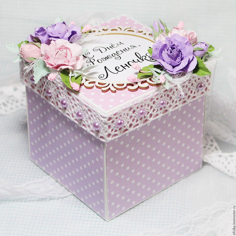 Как сделать подарочную коробку Подарок своими руками 44