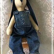 Куклы и игрушки ручной работы. Ярмарка Мастеров - ручная работа Тильда Заяц Тихон. Handmade.