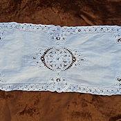 Винтаж handmade. Livemaster - original item Track Battenberg lace,cotton,vintage Germany. Handmade.