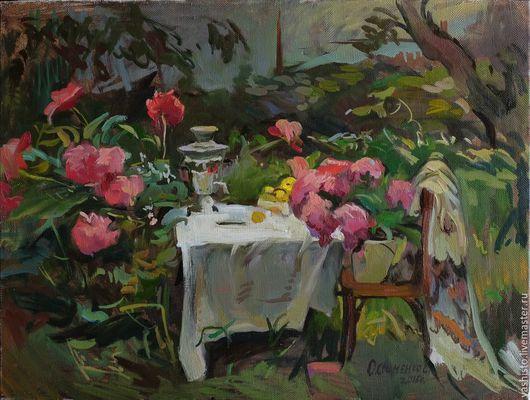 Картина названа в саду, хотя. по мне, более подходящее название `барская жизнь`. <img src=