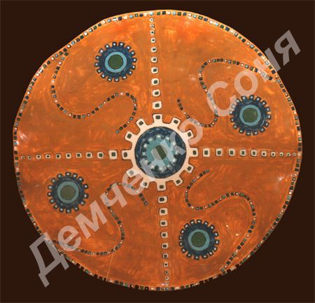Декоративная посуда ручной работы. Ярмарка Мастеров - ручная работа. Купить тарелка Ацтеков. Handmade. Керамика, краски по керамике, эмаль