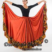 """Одежда ручной работы. Ярмарка Мастеров - ручная работа Юбка """"Цыганская"""" для танцев. Handmade."""