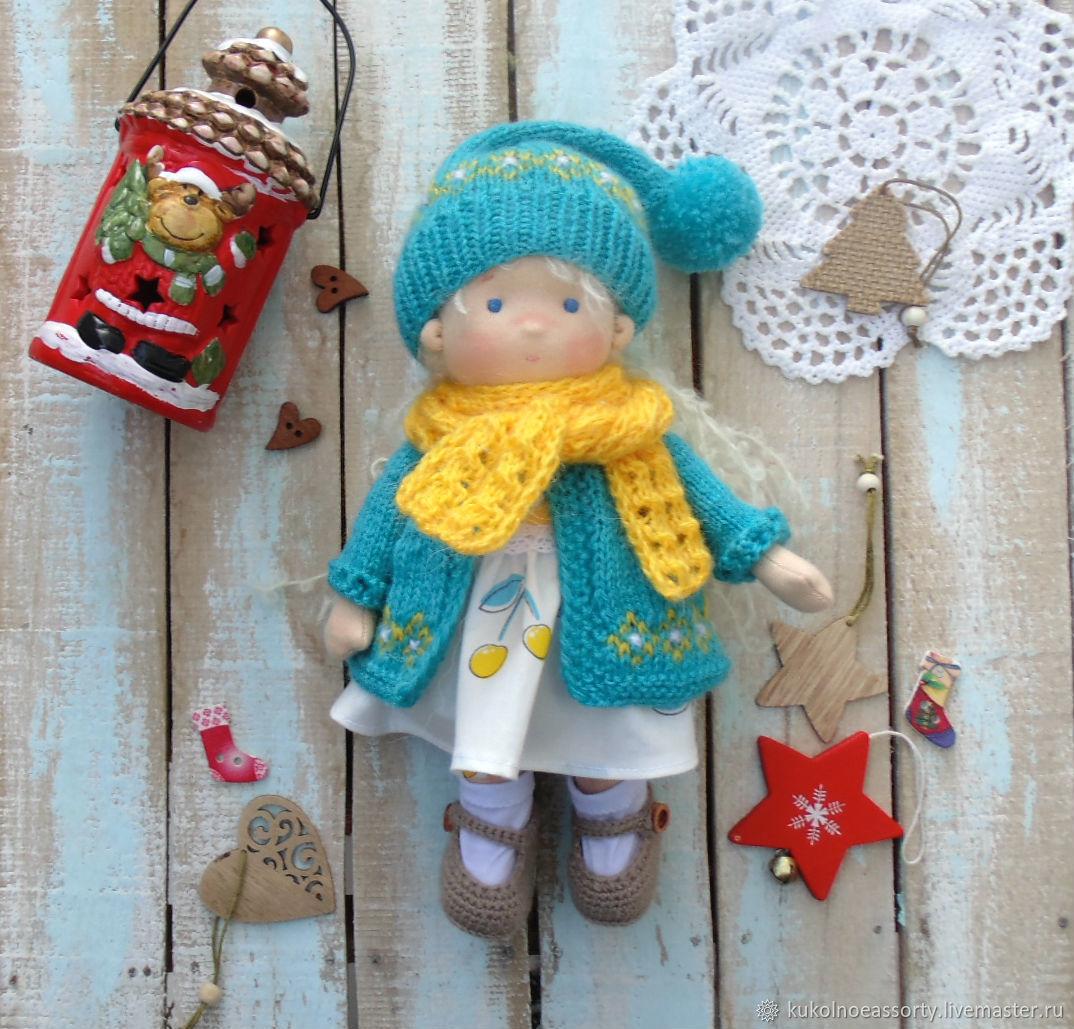 Вальдорфская кукла Полинка, Вальдорфские куклы и звери, Североуральск,  Фото №1