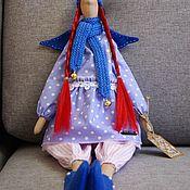 Куклы Тильда ручной работы. Ярмарка Мастеров - ручная работа Ангел. Малиновые волосы.. Handmade.