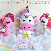 Куклы и игрушки handmade. Livemaster - original item Magical unicorns. Handmade.