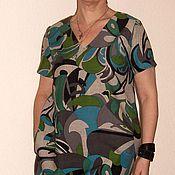 Одежда ручной работы. Ярмарка Мастеров - ручная работа Платье шерстяное прямое на вискозной подкладке. Handmade.