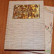 Канцелярские товары ручной работы. Ярмарка Мастеров - ручная работа Переплет книг, скетчей, блокнотов. Handmade.