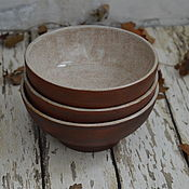 """Наборы посуды ручной работы. Ярмарка Мастеров - ручная работа Набор пиал """"Уютное хюгге"""". Handmade."""