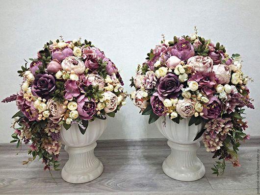 Свадебные цветы ручной работы. Ярмарка Мастеров - ручная работа. Купить Вдохновение. Handmade. Комбинированный, декор свадеб, сезаль