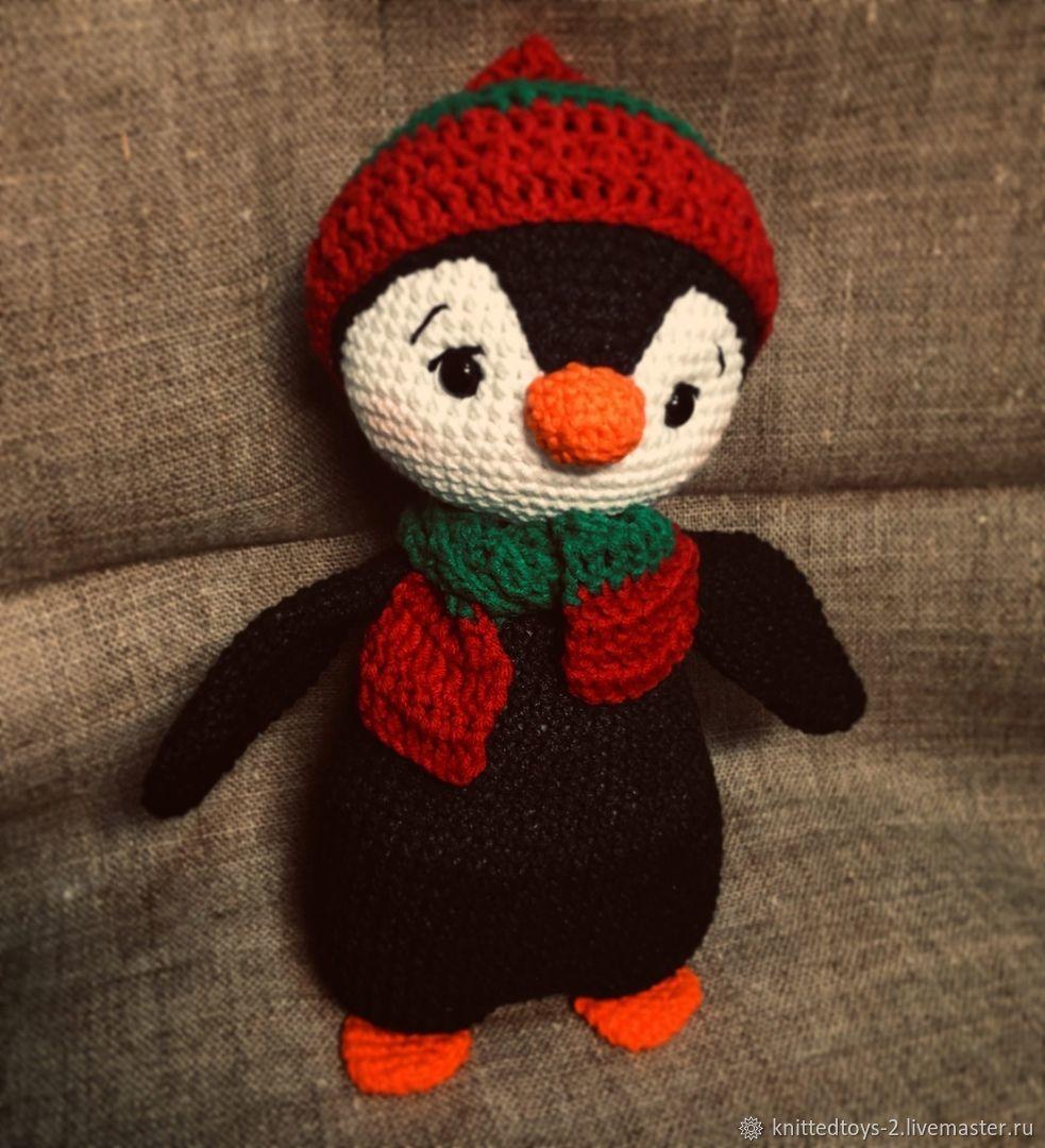 пингвин, Мягкие игрушки, Долгопрудный,  Фото №1