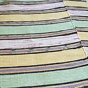 Для дома и интерьера ручной работы. Ярмарка Мастеров - ручная работа Половик ручного ткачества (№ 92). Handmade.