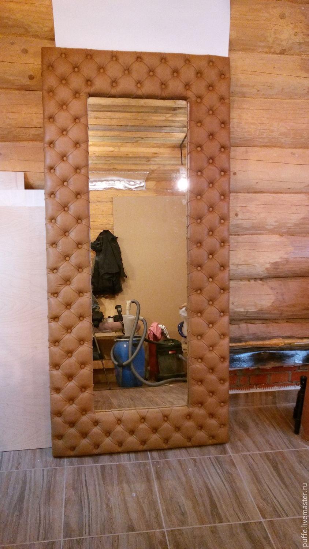 Зеркало в каретной стяжке своими руками