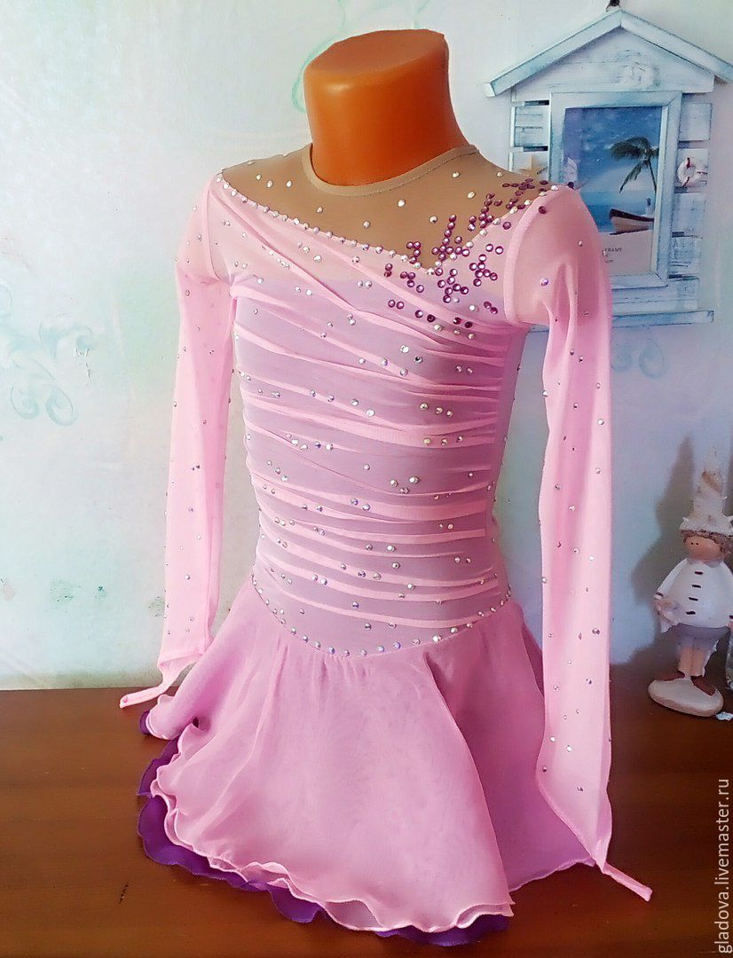 65aa18d34704 Livemaster Children's Dance Costumes handmade. Dress for figure skating.  Clothes for sports.