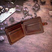 """Сумки и аксессуары ручной работы. Ярмарка Мастеров - ручная работа кошелек """"Шоколад"""". Handmade."""