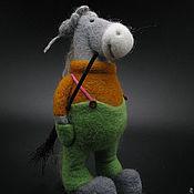Куклы и игрушки ручной работы. Ярмарка Мастеров - ручная работа Дворник Кузя. Handmade.