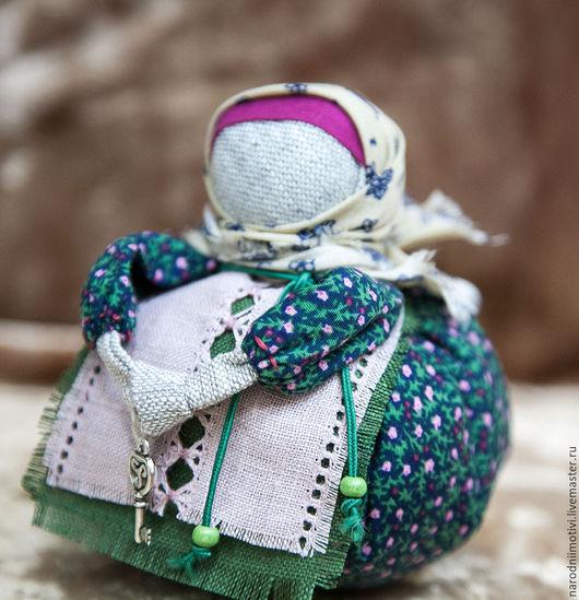 Русская народная кукла - оберег Благополучница, оберег для дома, оберег для семьи,обережные куклы, оберег на счастье, оберег на здоровье, оберег на  достаток, синий, зеленый, розовый.