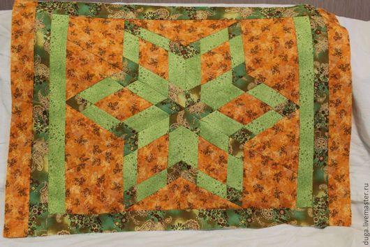 """Текстиль, ковры ручной работы. Ярмарка Мастеров - ручная работа. Купить Лоскутное шитье. Пэчворк  """"Звезда""""  № 15. Handmade."""