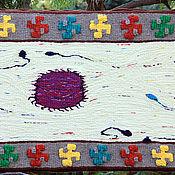 """Картины и панно ручной работы. Ярмарка Мастеров - ручная работа гобелен """"Плодородие"""". Handmade."""