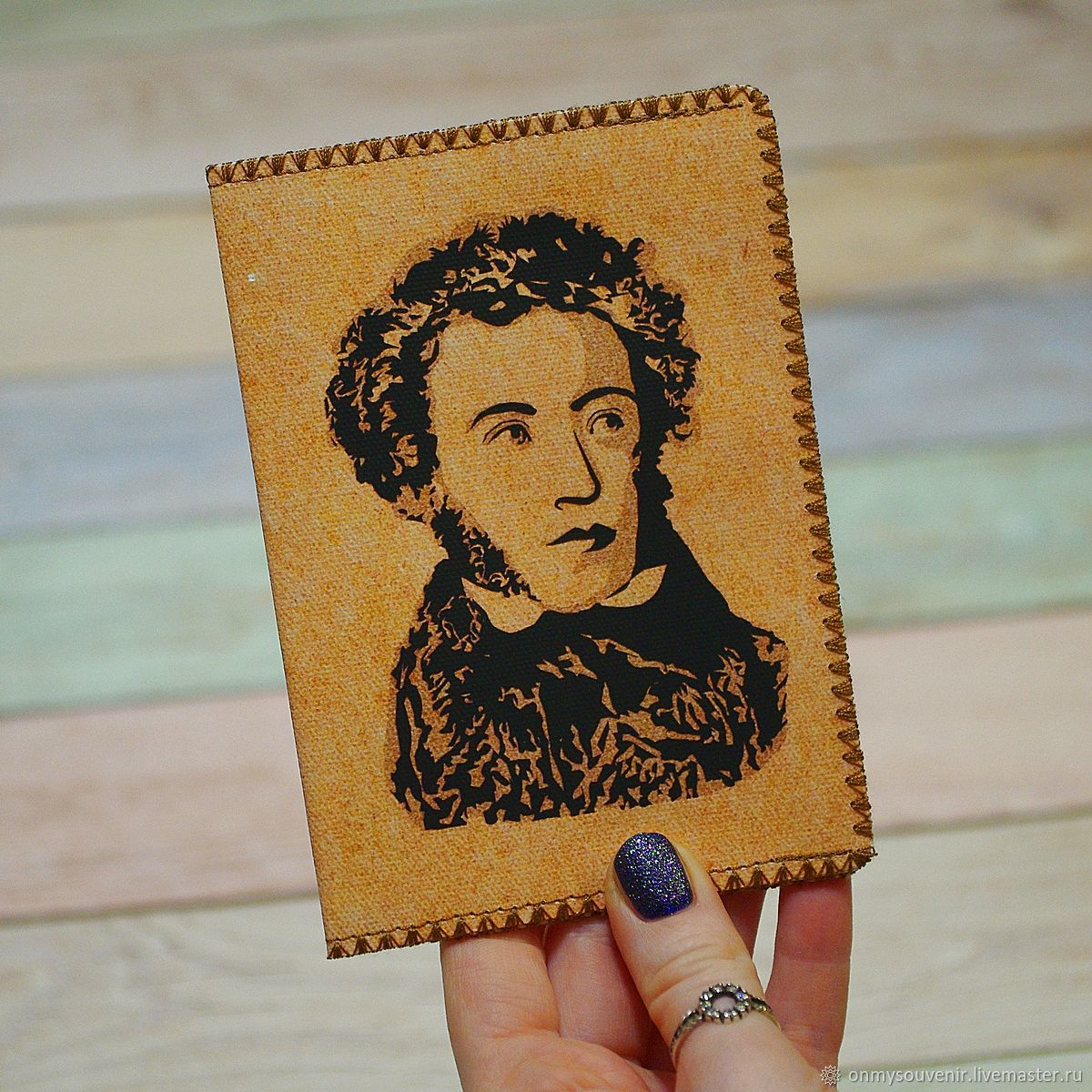 Passport cover ' Pushkin', Passport cover, Voronezh,  Фото №1