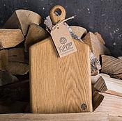 Доски ручной работы. Ярмарка Мастеров - ручная работа Разделочная доска из дуба, бесплатная доставка. Handmade.