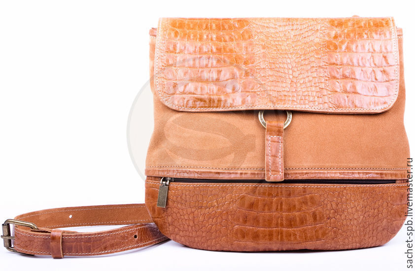 Women's leather bag collection brown, Classic Bag, St. Petersburg,  Фото №1