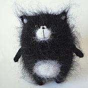 Куклы и игрушки ручной работы. Ярмарка Мастеров - ручная работа Кот Шмяк вязаная игрушка кот амигуруми. Handmade.