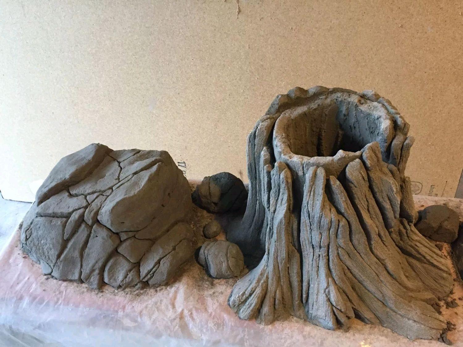 Арт бетон скульптурный бетон дубай