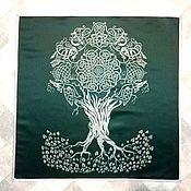 Фен-шуй и эзотерика handmade. Livemaster - original item Altar cloth TREE of LIFE, Atlas-satin, printing fabric. Handmade.