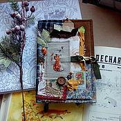 """Блокноты ручной работы. Ярмарка Мастеров - ручная работа Блокнот """"Про то, как лисе в лесу живётся"""". Handmade."""
