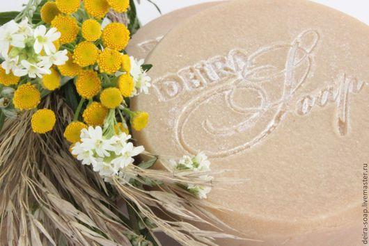 натуральное мыло с нуля `ЛУГОВЫЕ ТРАВЫ` на молочной сыворотке