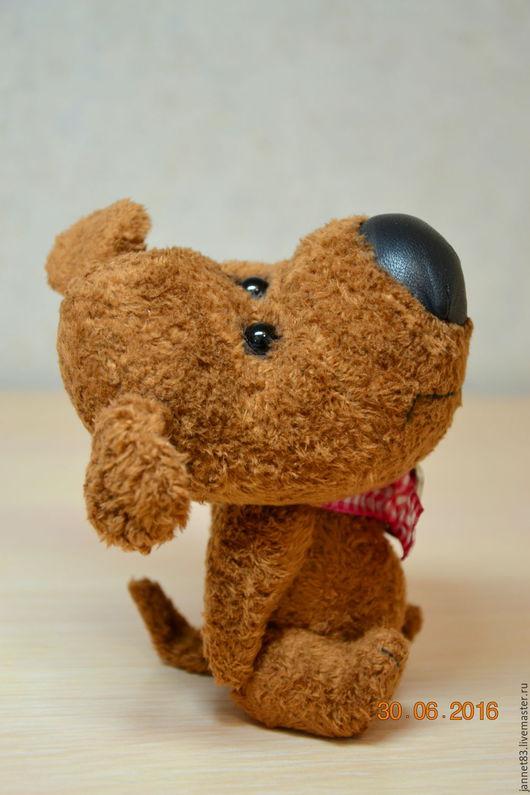 Мишки Тедди ручной работы. Ярмарка Мастеров - ручная работа. Купить носатая собачка. Handmade. Коричневый, собака улыбака, в наличии
