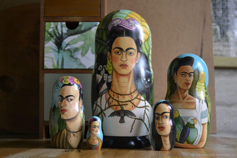 Dolls: Frida with a monkey and a cat, Dolls1, Ryazan,  Фото №1